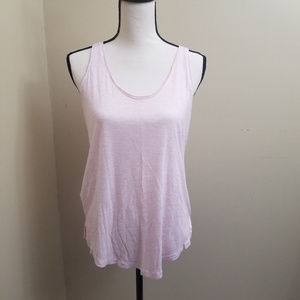 Lou & Grey Pink Oversized Tank Top Small